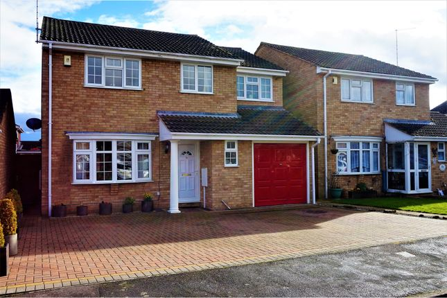 Thumbnail Detached house for sale in Burchnall Close, Peterborough