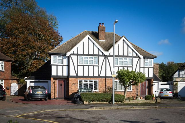 Thumbnail Semi-detached house to rent in Meadow Walk, London
