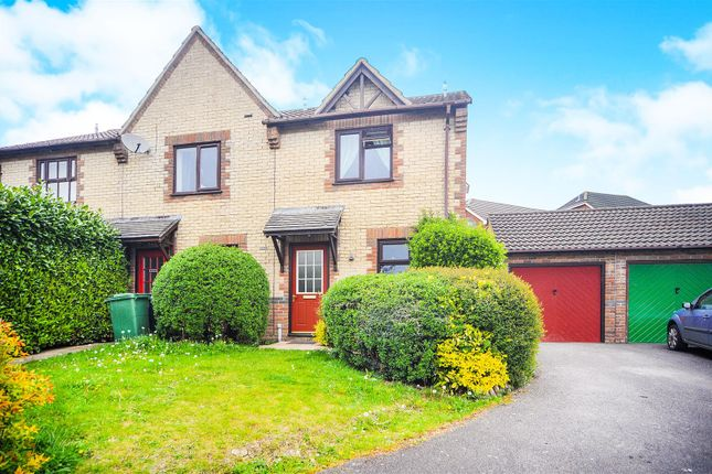 Thumbnail End terrace house for sale in Rowe Mead, Pewsham, Chippenham
