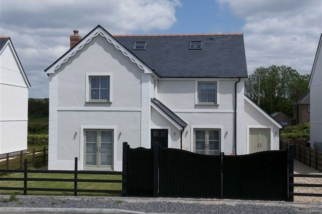 Thumbnail Detached house for sale in Monksland Road, Scurlage, Swansea