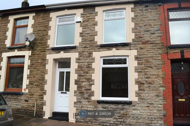 Thumbnail Terraced house to rent in Vicarage Terrace, Treorchy