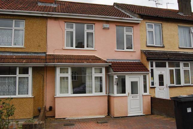 Thumbnail Terraced house to rent in Wallscourt Road, Filton, Bristol