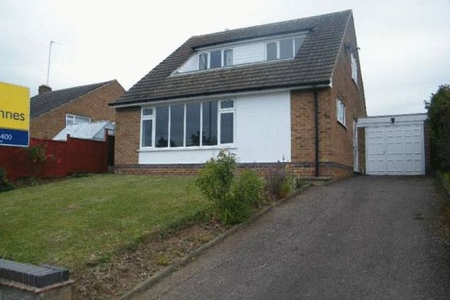 Thumbnail Detached bungalow to rent in Valley Road, Loughborough