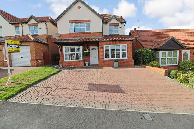 Thumbnail Detached house for sale in Briardene Way, Easington Colliery, Peterlee