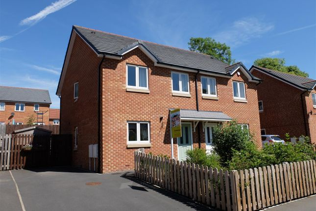 Thumbnail Semi-detached house for sale in Brookside, Carlisle