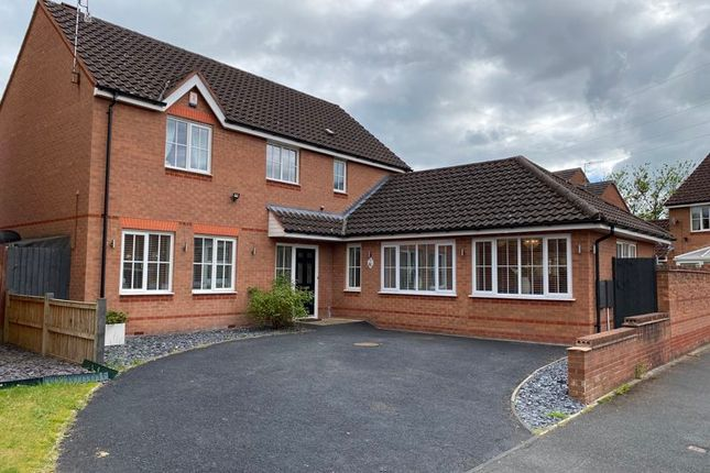 Thumbnail Detached house for sale in Southdown Close, Lightwood, Stoke-On-Trent