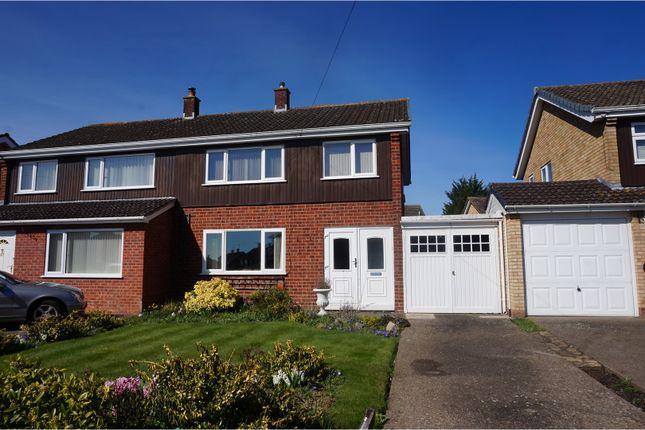 Thumbnail Semi-detached house for sale in Westbury Road, Shrewsbury