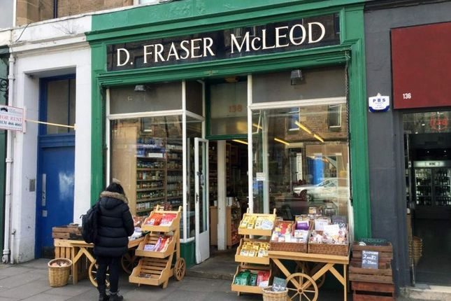 Thumbnail Retail premises for sale in 138 Marchmont Road, Edinburgh
