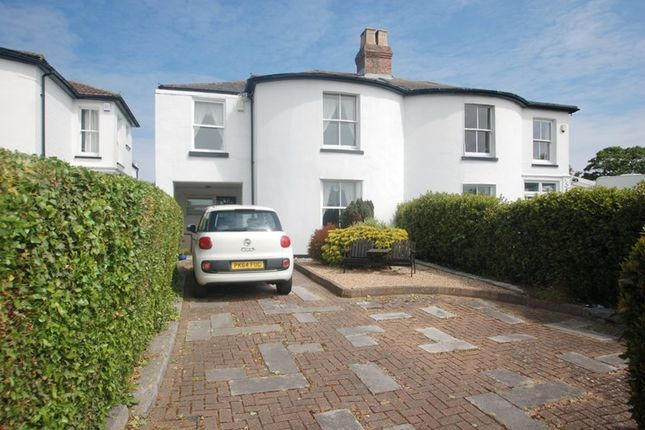 Thumbnail Semi-detached house for sale in Little Anglesey Road, Alverstoke, Gosport