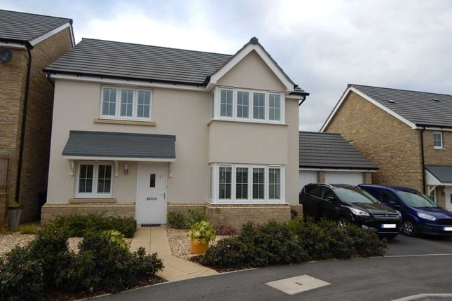 Thumbnail Detached house for sale in Cloakham Drive, Axminster, Devon