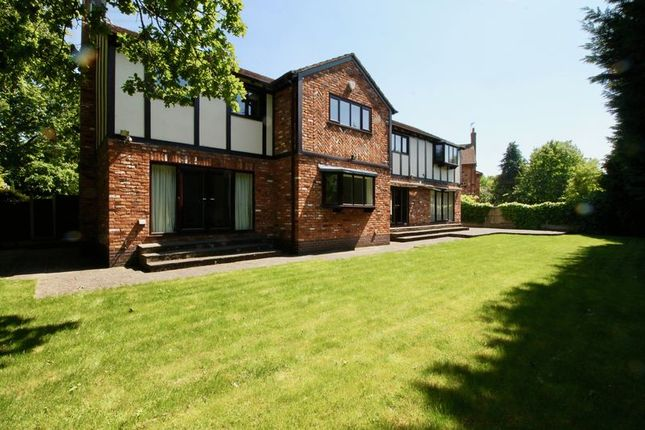 Thumbnail Detached house to rent in Sherbrook Rise, Wilmslow