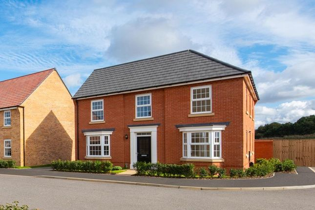 "Thumbnail Detached house for sale in ""Eden"" at Huntingdon Road, Thrapston, Kettering"