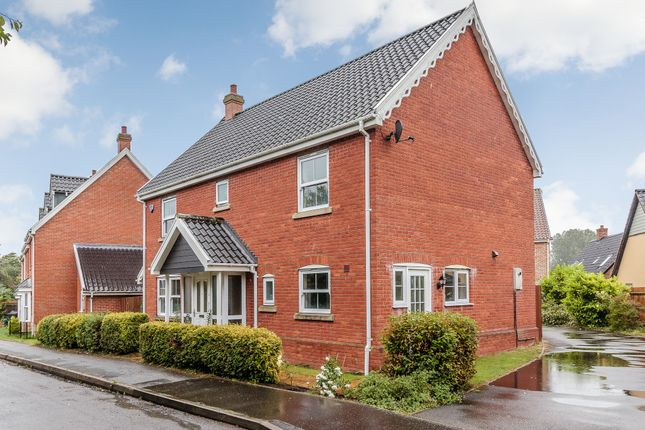 Thumbnail Detached house for sale in The Butts, Kennighall, Norwich