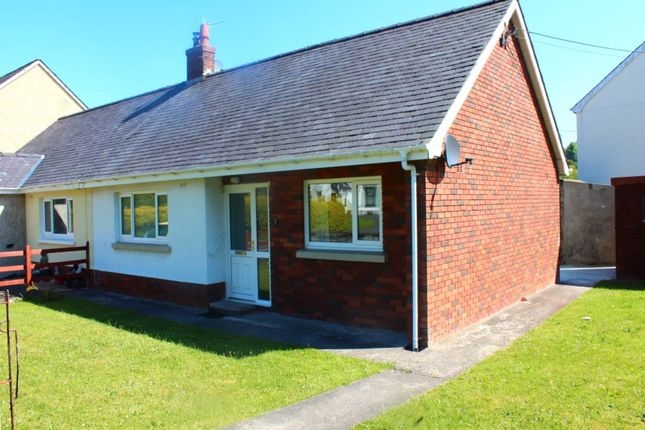 Thumbnail Semi-detached bungalow to rent in Bro Cadarn, Llanwnnen, Lampeter