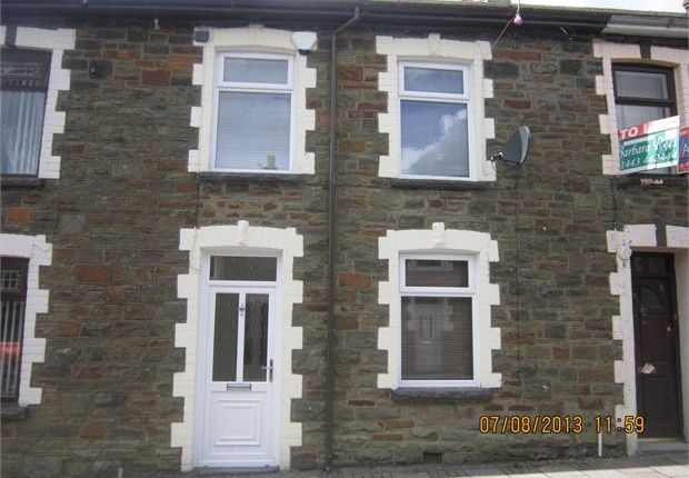 Thumbnail Terraced house to rent in Hill Street, Maerdy, Rhonnda Cynon Taff.
