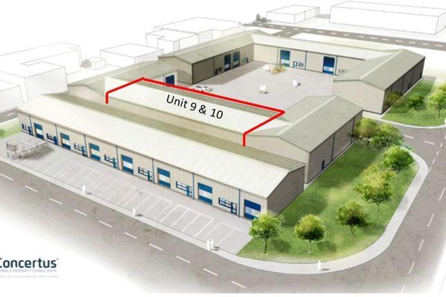 Thumbnail Property to rent in Unit 9 & 10, Phoenix Enterprise Park, Gisleham, Lowestoft