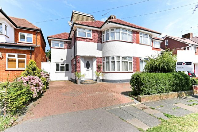 Thumbnail Semi-detached house for sale in St. Edmunds Drive, Stanmore