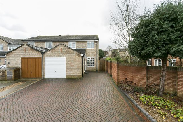 Thumbnail Semi-detached house for sale in Harvest Ridge, Leybourne, West Malling
