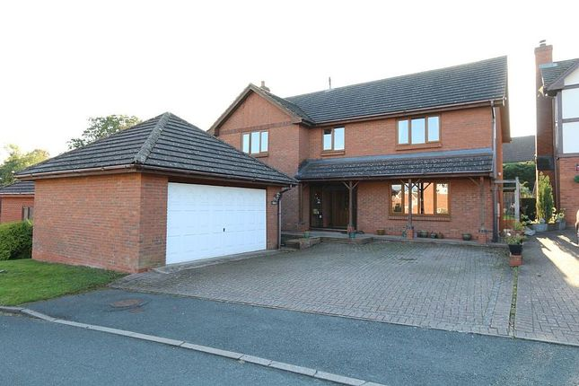 Thumbnail Detached house for sale in The Meadows, Hereford, Herefordshire