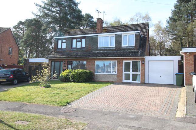 Thumbnail Semi-detached house to rent in Woodlands Close, Sarisbury Green, Southampton
