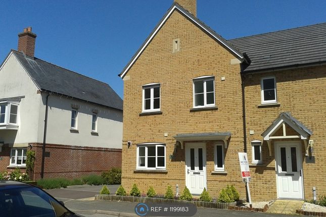 3 bed end terrace house to rent in Squadron Place, Crossways Dorchester DT2