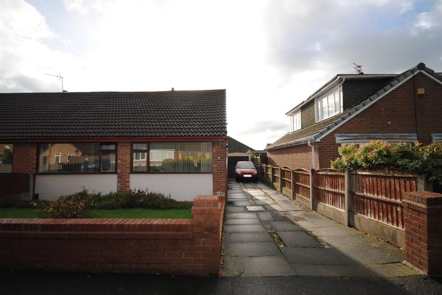 Thumbnail Semi-detached bungalow to rent in Jennet Hey, Ashton In Makerfield, Wigan