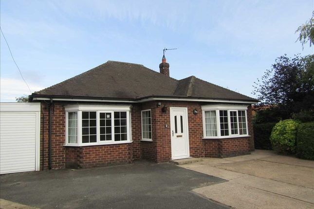 Thumbnail Detached bungalow to rent in West Street, Winterton, Scunthorpe