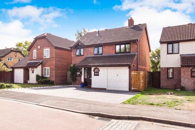 Thumbnail Detached house to rent in Turnstone Close, Winnersh, Wokingham