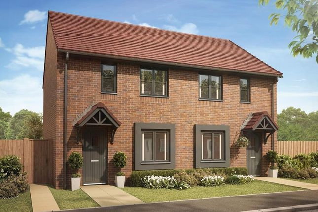 """Semi-detached house for sale in """"Roseberry"""" at Churchward Drive, Telford"""