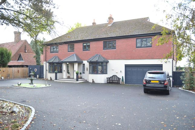 Thumbnail Detached house for sale in Reigate Road, Ewell, Epsom