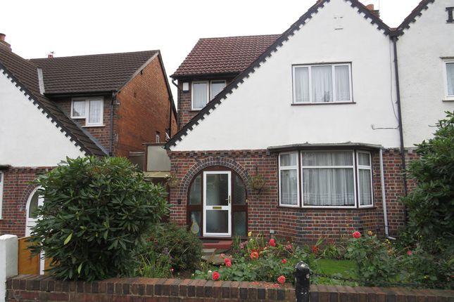 Thumbnail Semi-detached house for sale in Poplar Avenue, Edgbaston, Birmingham