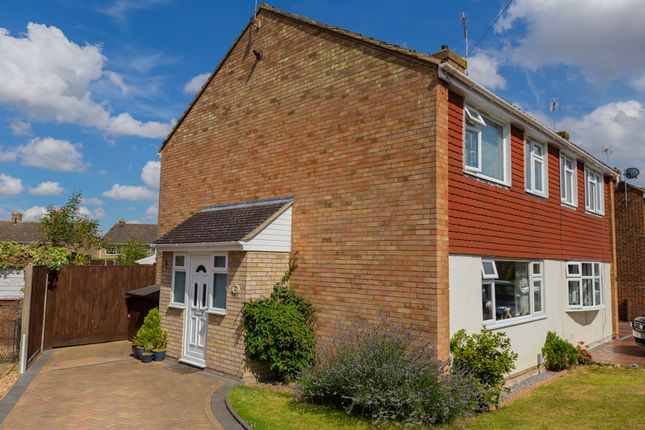 Thumbnail Semi-detached house for sale in Marlborough Way, Kennington, Ashford