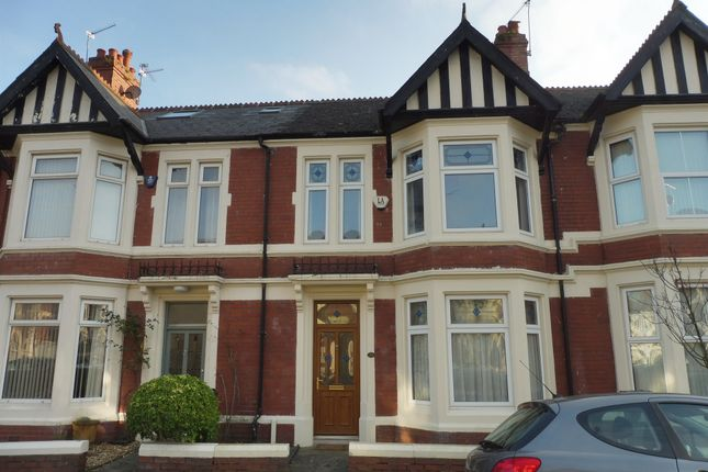 Thumbnail Terraced house for sale in Deri Road, Roath, Cardiff