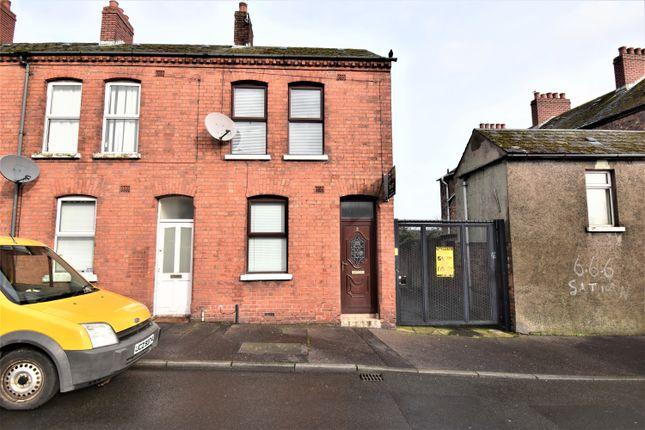Thumbnail End terrace house for sale in Lawnview Street, Belfast