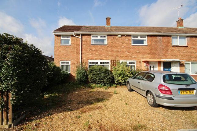 Thumbnail End terrace house to rent in Cunningham Close, Cambridge