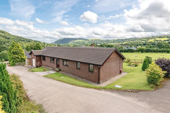 Thumbnail Detached bungalow for sale in Carno, Caersws
