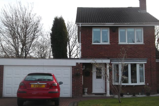 Thumbnail Detached house for sale in Lapwing, Wilnecote, Tamworth