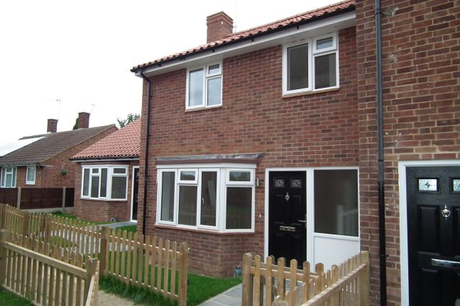 Thumbnail End terrace house for sale in Somers Square, Welham Green, North Mymms