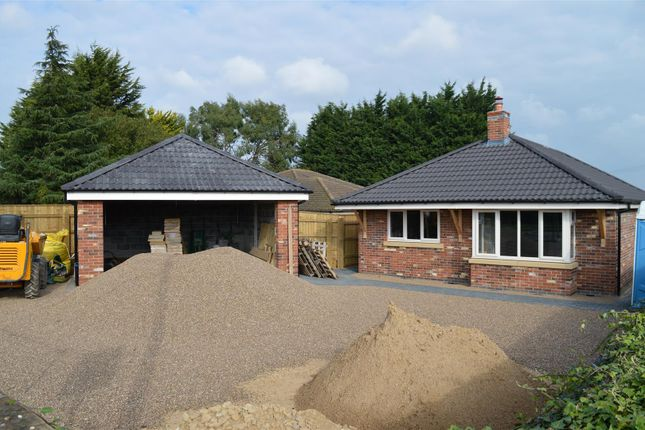 Thumbnail Detached bungalow for sale in Lincoln Road, Leasingham, Sleaford