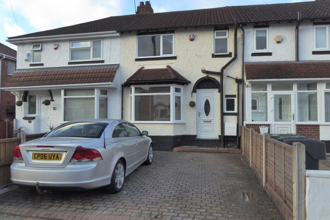 Thumbnail Terraced house for sale in Kineton Road, Rednal, Birmingham