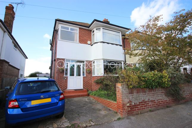 Thumbnail Semi-detached house for sale in St. Lawrence Avenue, Ramsgate