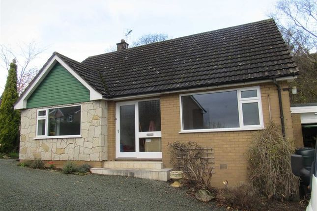 Thumbnail Detached bungalow to rent in Rhiew Revel Lane, Pant, Oswestry