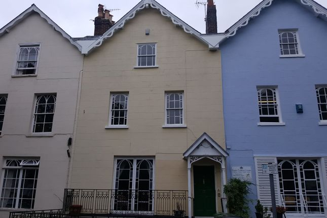 Thumbnail Terraced house to rent in Queens Terrace, Exeter
