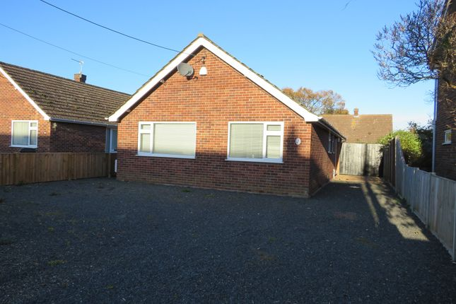 Thumbnail Detached bungalow for sale in Grove Avenue, New Costessey, Norwich