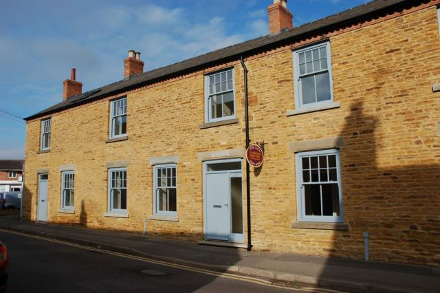 Thumbnail Semi-detached house for sale in High Street, Moulton, Northampton