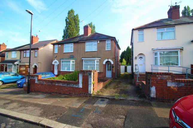 Front of Burnham Road, Coventry CV3