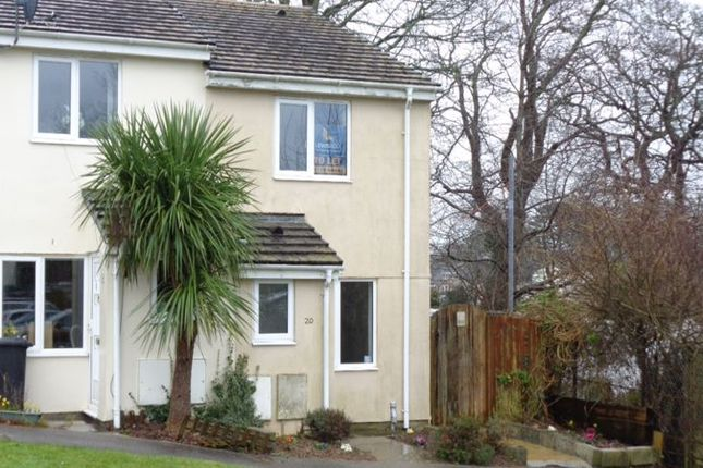 Thumbnail End terrace house to rent in Doubletrees Court, St. Blazey, Par