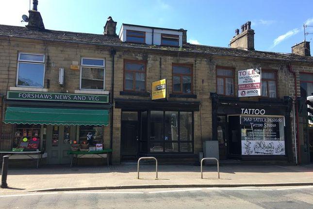 Thumbnail Retail premises to let in 723 Bacup Road, Rossendale, Lancashire