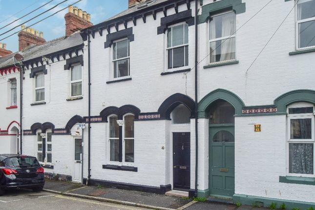 Thumbnail Terraced house to rent in Richmond Street, Barnstaple