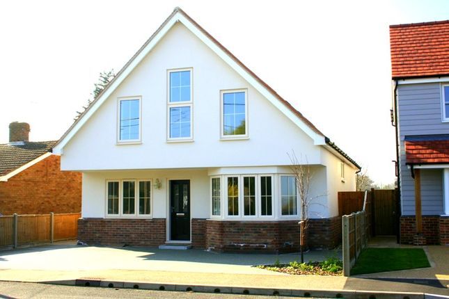 Thumbnail Detached house for sale in St. Marys Road, Aingers Green, Colchester